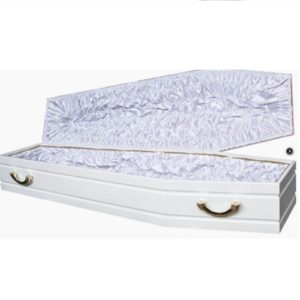 Гроб белый