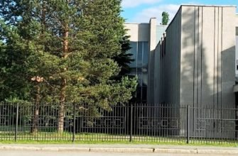 Здание крематория Екатеринбурга
