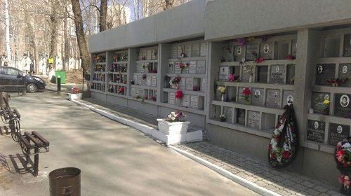Колумбарий Михайловского кладбища
