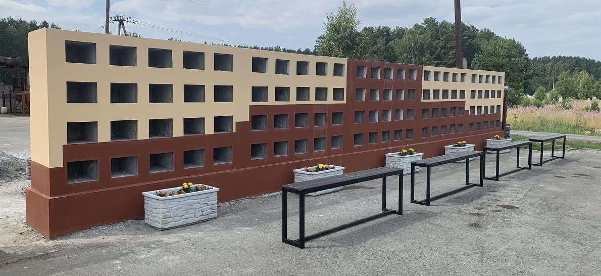 Строительство нового колумбария на Окружном кладбище Екатеринбурга