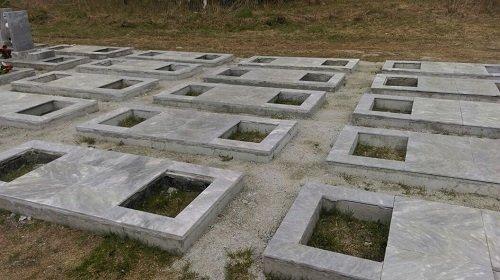 Урновая аллея Сибирского кладбища