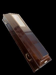 Гроб со стеклянной крышкой
